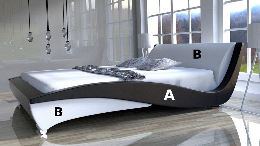 Kolorystyka łóżka flamenco