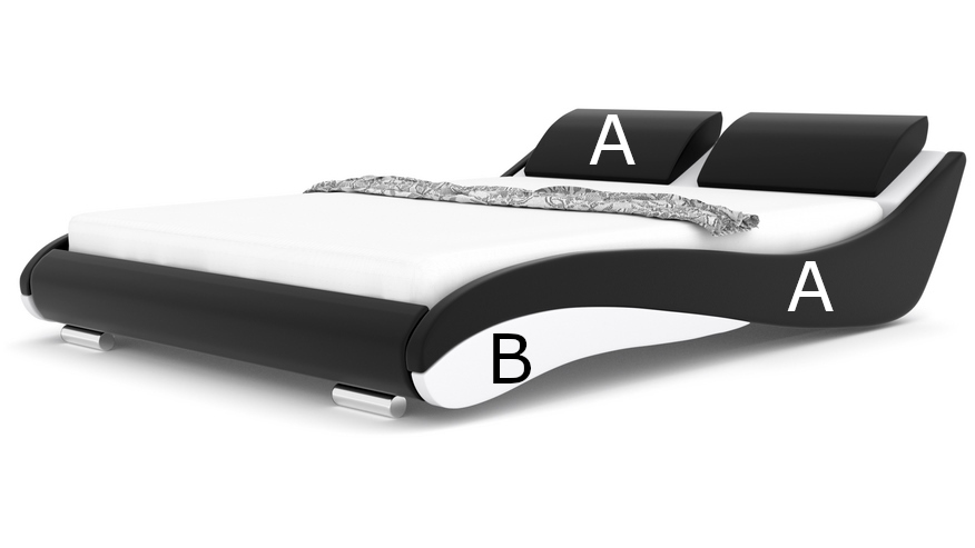 Łóżko tapicerowane Stilo 2 Premium