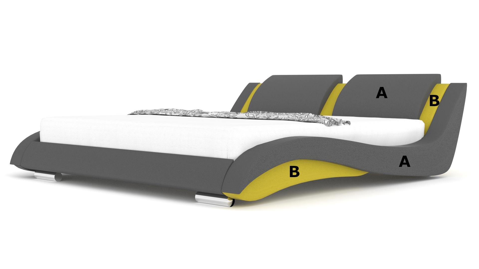 Łóżko tapicerowane Stilo 2 Slim