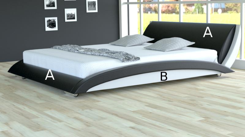 Łóżko tapicerowane Liberty